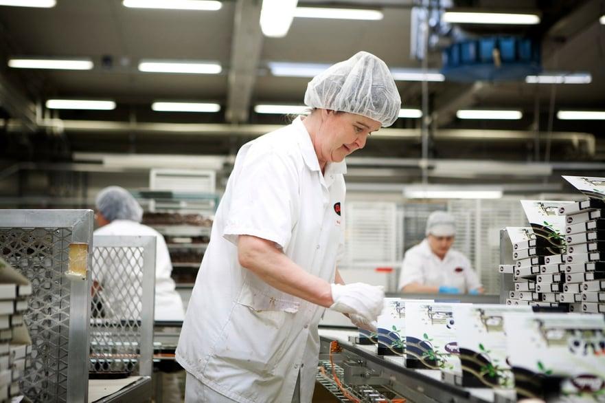 SMED tuotantolinjalla valmistavassa teollisuudessa