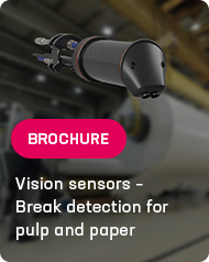 Vision sensors – Break detection for pulp and paper