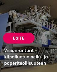Vision-anturit – kilpailuetua sellu- ja paperiteollisuuteen