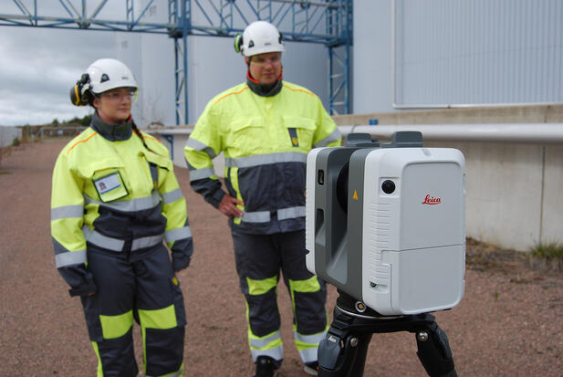 Laser scanning in tank manufacture and lifecycle management – 3 reasons why laser scanning pays off