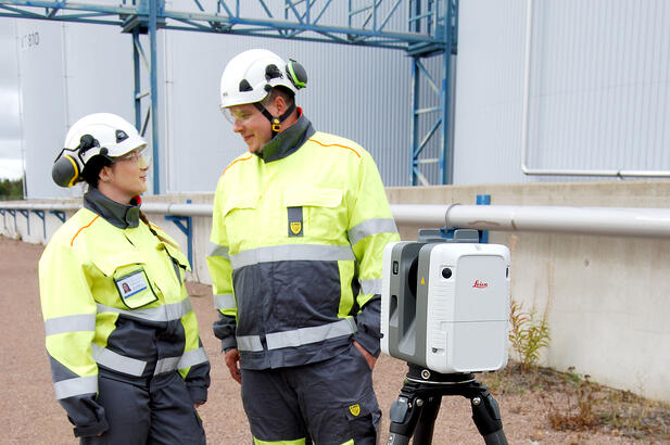 Laser scanning supports industrial renewal with millimeter accuracy