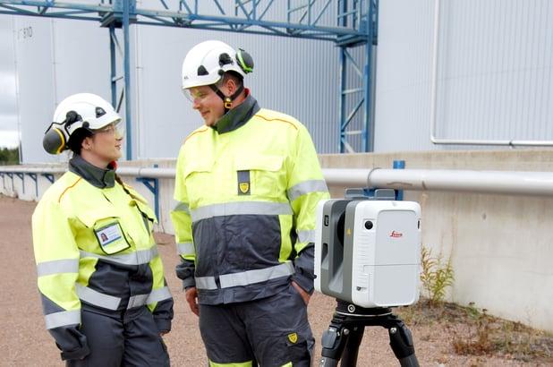 Laserkeilaus tukee teollisuuden uudistamista millimetrin tarkasti