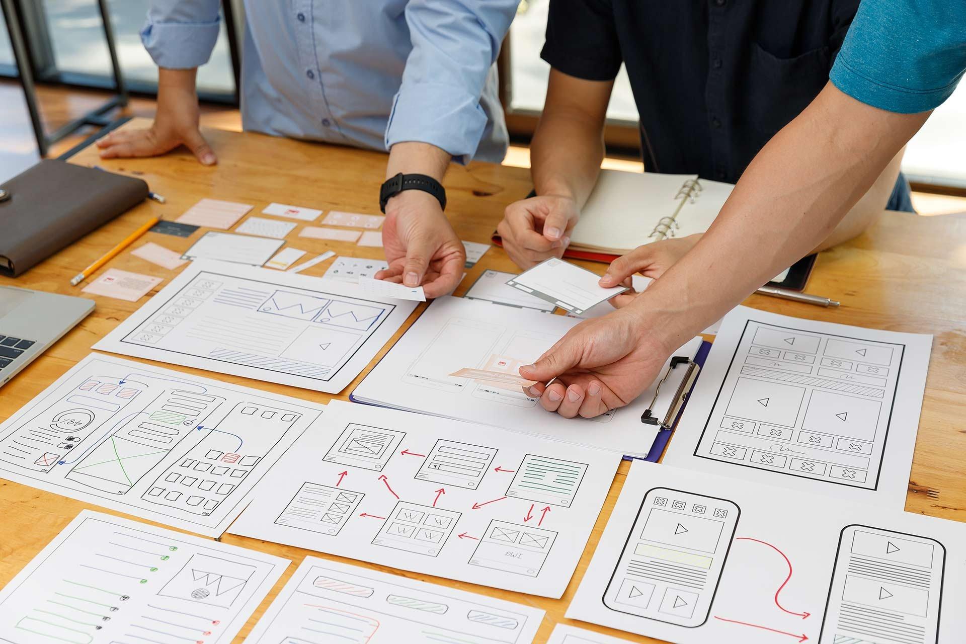Käyttöliittymäsuunnittelua prototyyppien avulla
